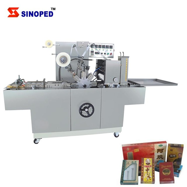 cellophane packing cigarette box machine