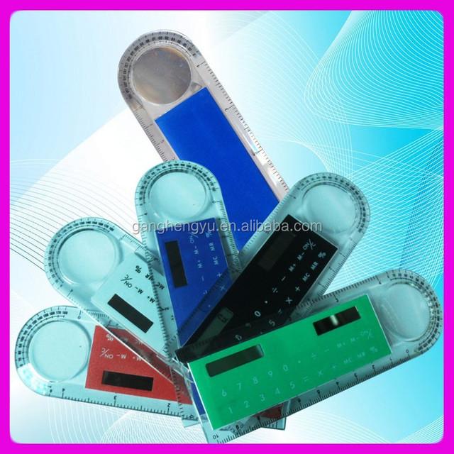10cm Solar Geometry ruler calculator,Magnifier ruler calculator