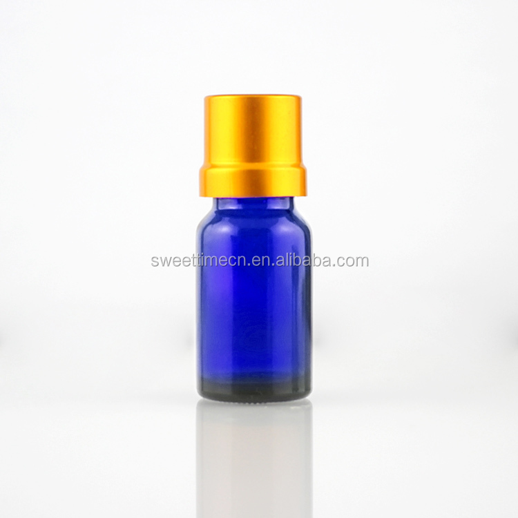 15ml blue glass bottle essential oil bottle with dropper