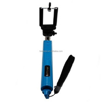 Z07-8 Wireless Handheld Bluetooth Selfie Stick Monopod Extendable with Remote Shutter Control Built in Zoom for Ios Andriod cell