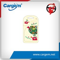 CARGEM Wholesale customized paper hanging car air freshener