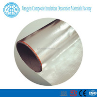 Double sided fiberglass aluminum foil facing with PE