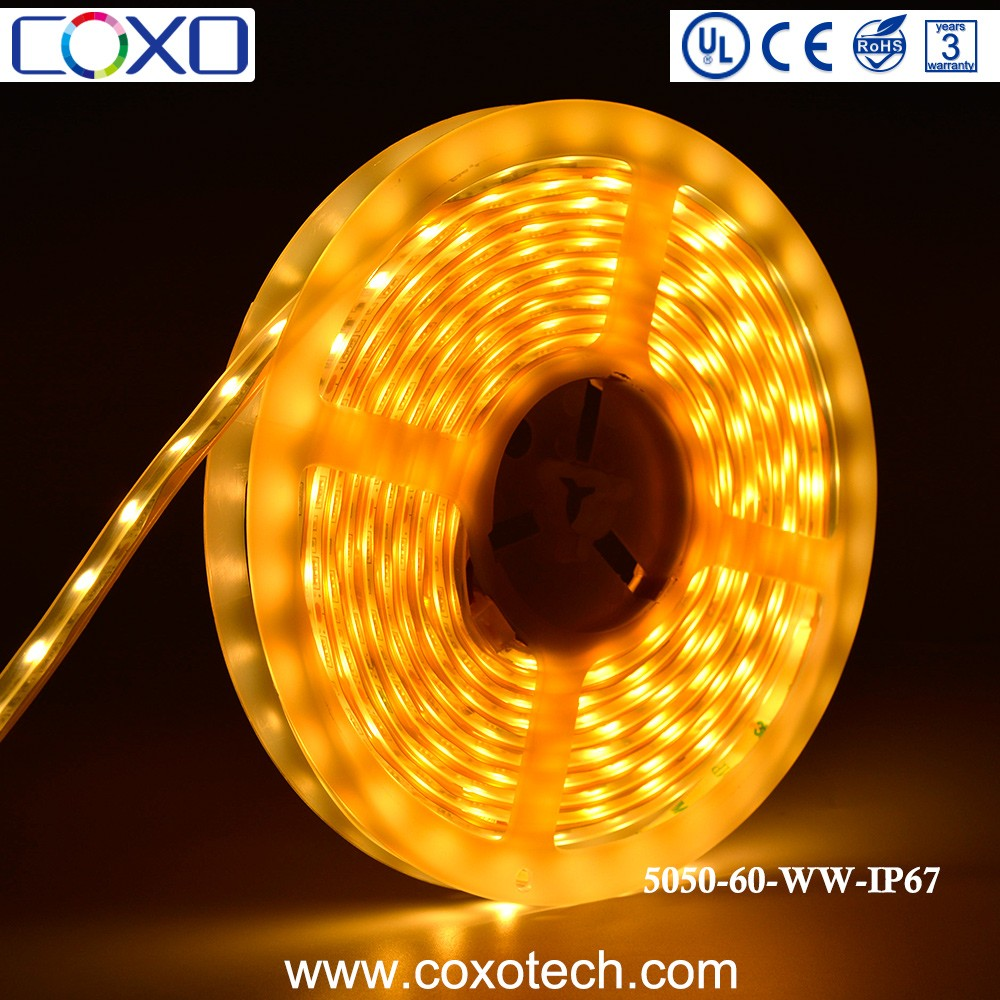 12v Samsung High Quality Led 3000K Cheap Flexible 5050 Smd Waterproof Led Strip