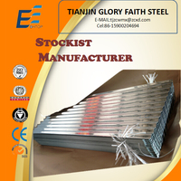 galvanized onduleed steel sheet tile for roof building