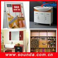 Sounda Colorful abinet PVC foam board or sheet for furniture