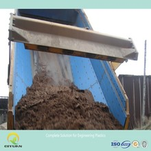UHMWPE coal bunker liner/ self-lubricating bin liner/ plastic chute liner sheet