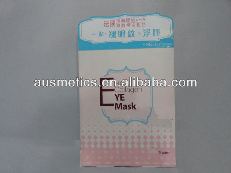 OEM HA+Collagen Whitening & Nourishing Eye Mask