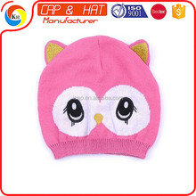 2017 New custom knitted animal pattern hat beanie autumn winter children knitted BABY girls cake warm hat cap