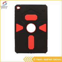 2016 New product fashionable tpu pc armor shock-resistant defender case for iPad mini 4