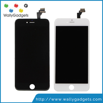 A +++ No Dead Pixel Touch Screen Digitizer with LCD Assembly Replacement For iPhone 6 Plus Fast Shipping