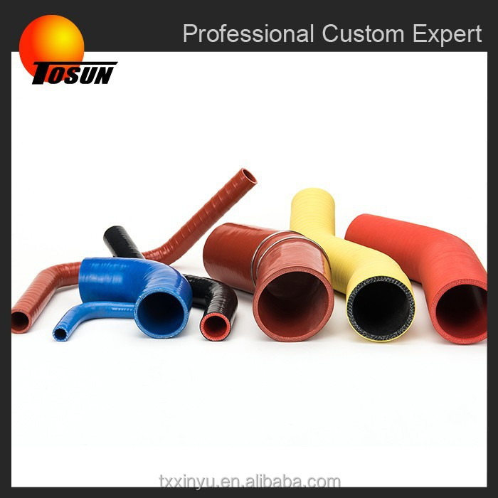 ISO9001 silicone with fiber reinforced rubber water garden hose pipes