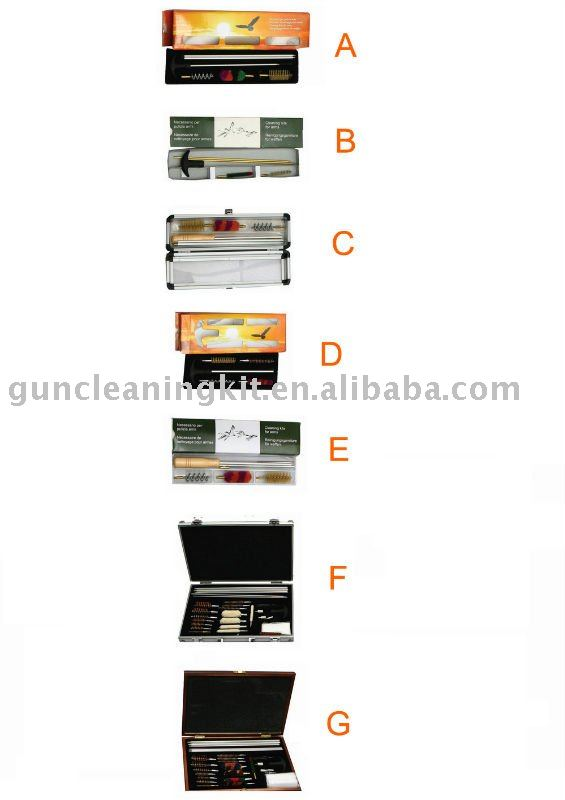 hunting accessories. for cleaning all firearms kit