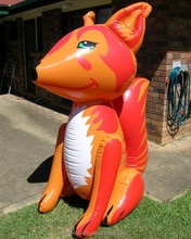 Popular Giant Lovely Inflatable Animal Fox /Newest Customized Design Inflatable Cartoon Fox toy