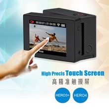 SHOOT External 2 inch Touchable LCD Display Touch Screen For Gopro Hero 3+ 4 with Bacpac Adapter and Frame Accessories