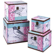 Vintage small home decor wooden storage gift boxes wholesale