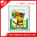 12 Chinese zodiac signs animal series cool tiger 5D diamond painting handmade embroidery wall decoration