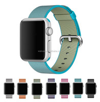Factory Price Fabric Nylon Adjustable Bracelet Loop For iWatch Band loop With Free Connector