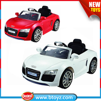 licensed double drive battery charger kids car 12V battery operated ride on toy car
