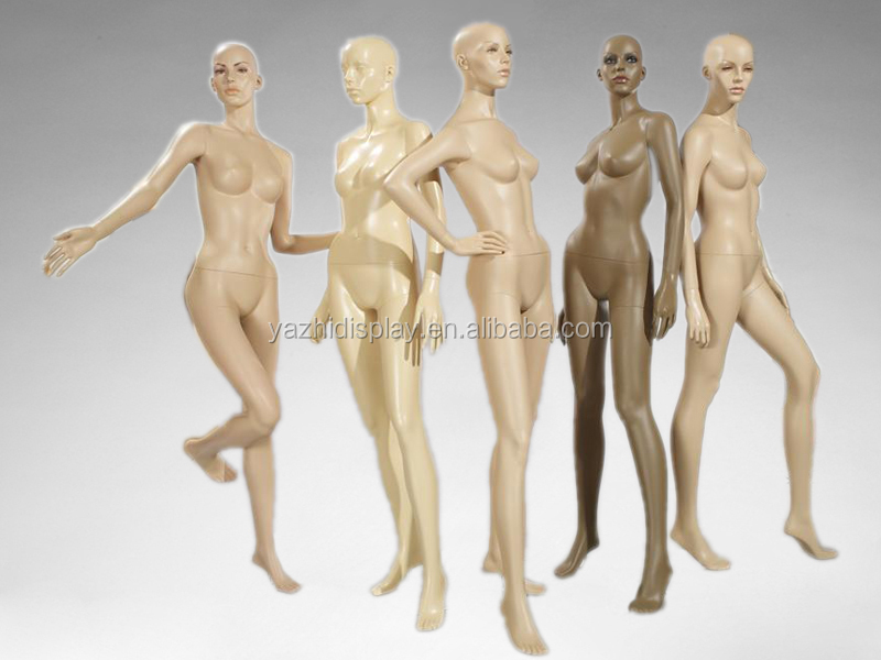 Poseable sexy lifelike female bijini display full body mannequin for sale