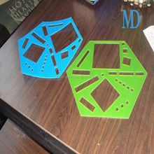 PET stamping part, customized plastic PET stamping product,PET plastic sheet