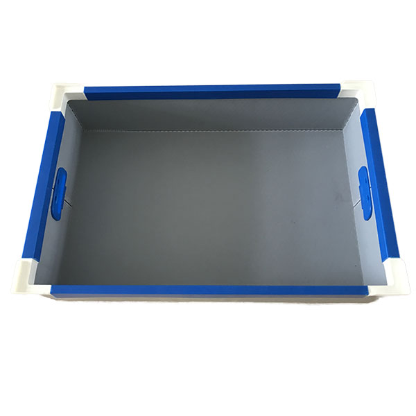5mm industrial reusable storage foldable plastic turnover box