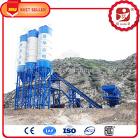 Road construction equipment, Concrete Mixing Station HZS90 (with the capacity of 90m3/h)