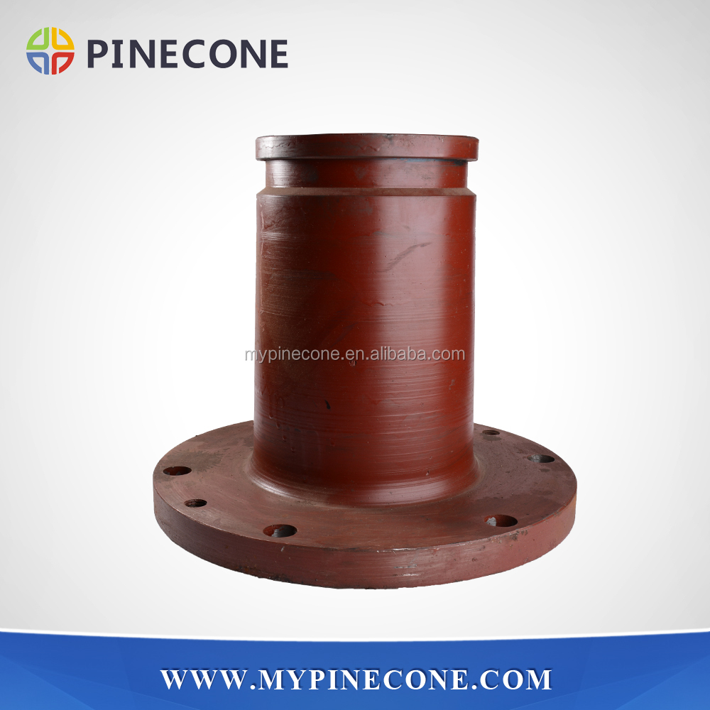 Concrete Pump Spare Parts SANY Outlet/Discharge Hole for Trailer Pump and Truck/Vehicle Mounted Pump