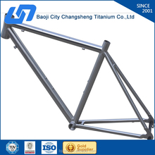 professionally manufacturing gr9 / Ti3al2.5v titanium fat bike frame with SGS TUV certificates assurance