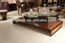 Art Style Solid Wood/Plywood Tea/Cafe Table Set S125