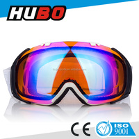 CE certificate fashion accessory anti-fog lens jet ski sports safety skiing goggle