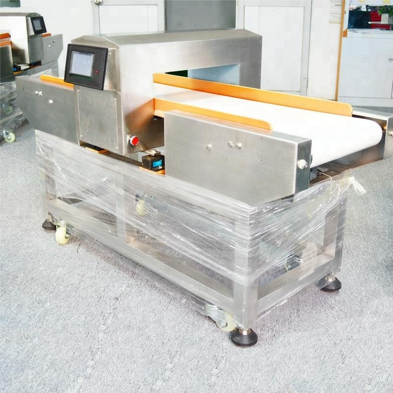 Safety <strong>Food</strong>! OEM dimension size conveyor <strong>food</strong> high sensitivity metal needle detector for poultry industry PD-F500QD