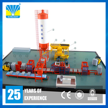 German technical fully auto legs pallet hydraulic automatic concrete block machine from Xiamen Sunlight