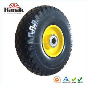 10x 3.00-4 Beach cart wheels with flat free tire