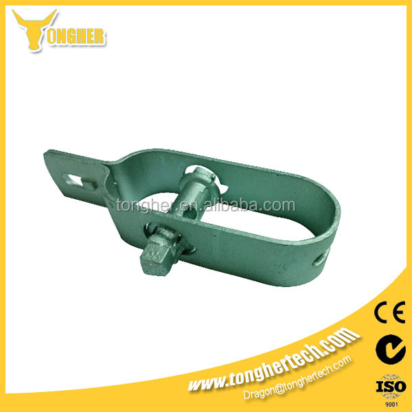 Galvanized iron electric fence wire strainer