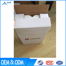 2 BOTTLES CORRUGATED CARTON BOX 330ML WINE SHIPPING PAPER CARRIERS MADE IN CHINA