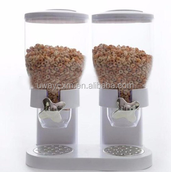 Large air tight pet food dispenser