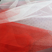 China supplier 100% polyester mesh fabric 40D hexagonal holes mosquito netting fabric