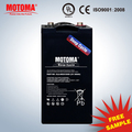 2v300Ah rechargeable battery olar panel 150w for system