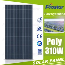 High efficiency 310 watt 310w poly solar panel cheap solar panel China manufacturer