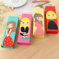 promotional japanese fancy children stationery high quality cartoon design multifunction pencil box
