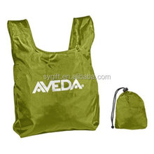 High quality nylon folding bag with logo