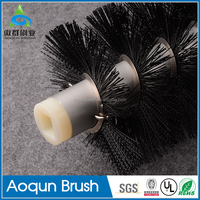 Easy to use household cleaning plastic toilet brush with