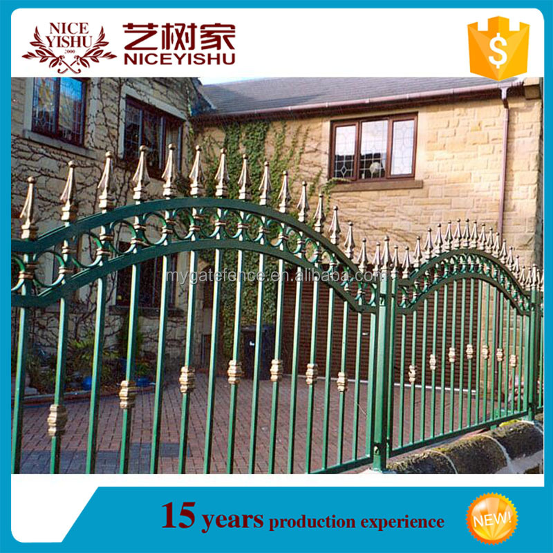 philippines gates and fences/iron fence philippines/concrete fence mold for sale