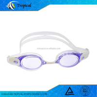 Sports competition Eyewear wide view waterproof swimming goggles