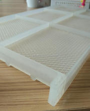 white plastic bee frame with comb foundation plastic beehive frame fo