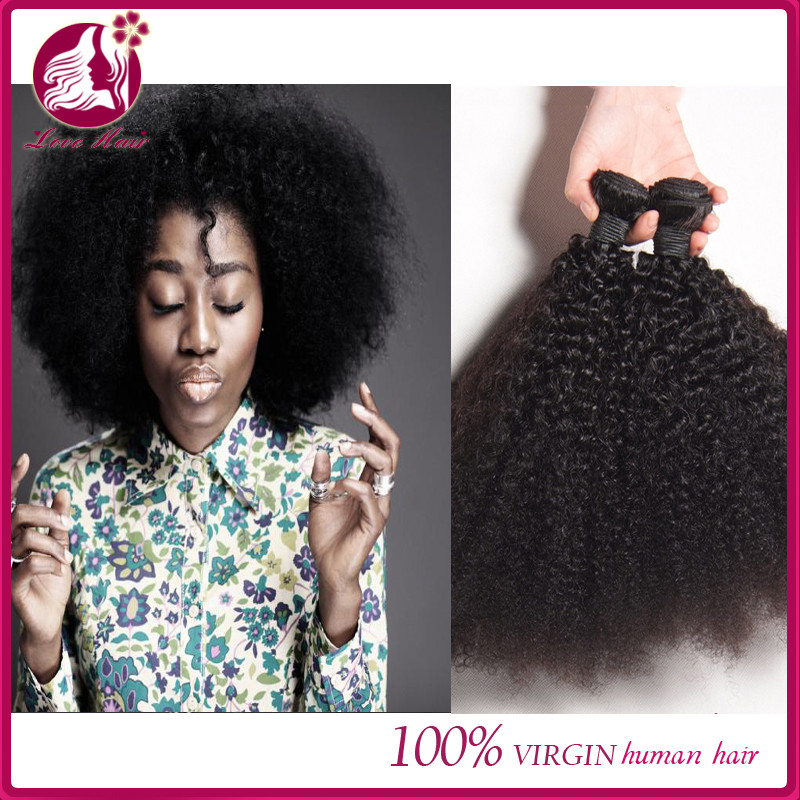 Hot Selling Afor Kinky Curly Cheap Virgin Brazilian Hair Weave 8a grade brazilian hair