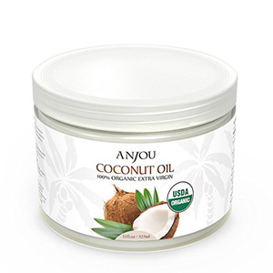 100% pure natural organic extra virgin coconut oil for massage skin whitening and cooking