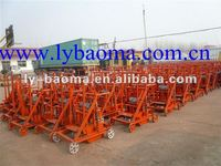 Sales well !!! Mobile hollow block machine without pallets QMR2-45 (Especially suitable for small factories or families)