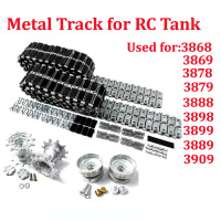 metal track for rc tank parts metal wheel apron wheel for henglong tank part