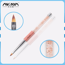 ANGNYA Nylon Hair Triangle Tip 3D Brush Nails Supply And Beauty